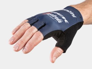 Glove Santini Trek-Segafredo Team Small Dark Blue